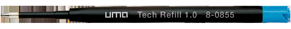 8-0855 uma Tech® Refill 1.0 blue
