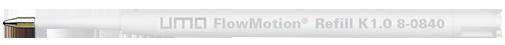 8-0840 uma FlowMotion® Refill K1.0 blue